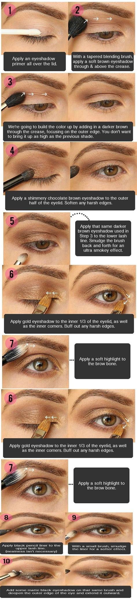 10 Brown Smokey Eye Tips by 10 Tips Smokey Eye Makeup For Brown