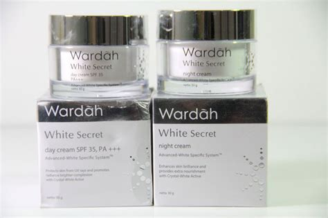 Wardah White Secret And Day toko kosmetik dan bodyshop 187 archive wardah