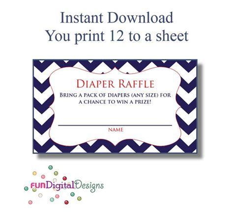 printable diaper raffle ticket template diaper raffle tickets printable new calendar template site