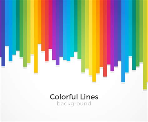 colorful lines colorful lines background vector graphics