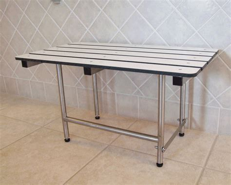 stainless steel shower bench tub shower benches