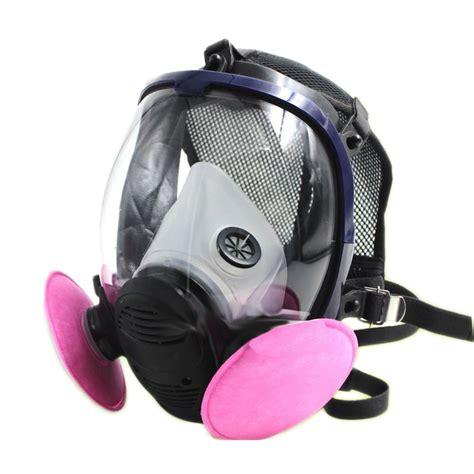 Masker Gas masker gas dengan filter 6800
