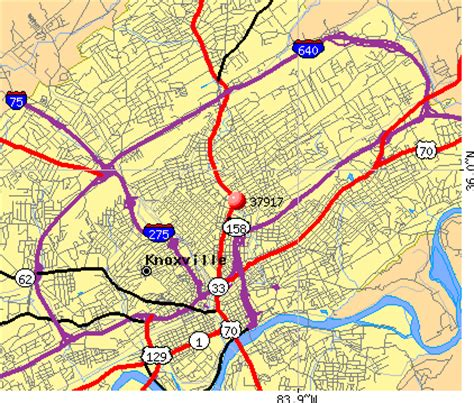 zip code map knox county tn knoxville tn zip code map my blog