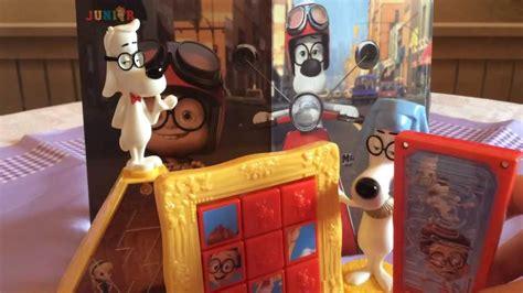 Mister Peabody And Sherman Set Happy Meal Mc Donalds Mcd Mekdi Murah happy meal mr peabody und sherman review