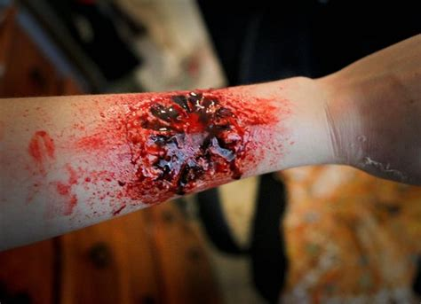 zombie bite tutorial easy zombie bite tutorial via youtube zombie pinterest