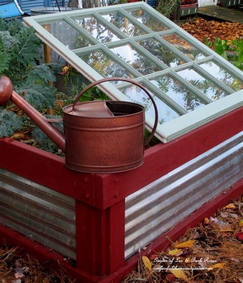 Window Vegetable Garden Window Lean To Cold Frame Prop An Window Up