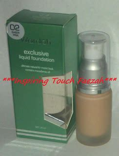 Harga Wardah Exclusive Liquid Foundation Light Beige wardah johor skincare cosmetic wardah exclusive series