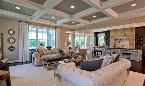 single family homes model home interiors