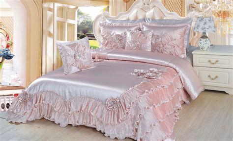 light pink comforter dada luxury dahlia comforter set 5 pc with removable