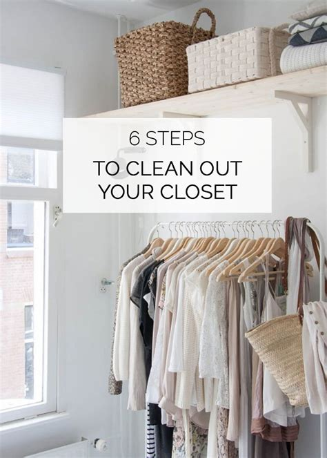cleaning out your wardrobe how to clean out your closet in 6 steps