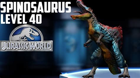 Jurassic World The Game Giveaways Top - jurassic world the game spinosaurus level 40 funnydog tv