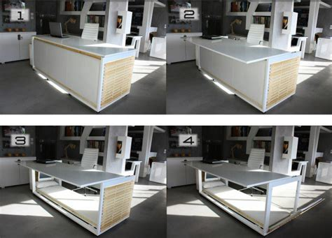 studio nl s transforming 1 6 sm of life desk turns into