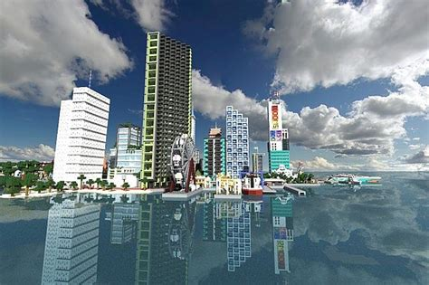 modern city modern city minecraft project