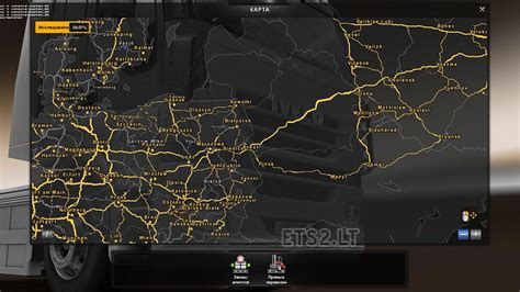 ets2 usa map poland map ets 2 mods