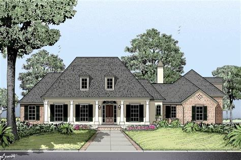 louisiana home plans french country house plan country french house plan