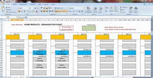 org templates excel organization chart template demonstration