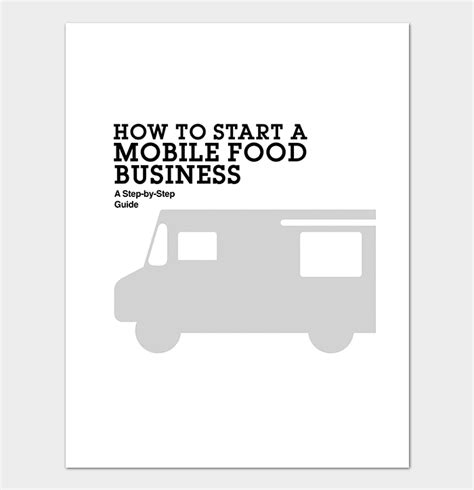 mobile catering business plan template catering business plan template 11 for word doc pdf