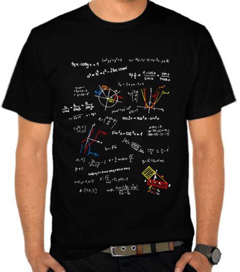 Baju Kaos Mario Bros Mb010 jual kaos rumus matematika 4 satubaju