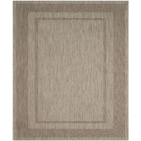 8 ft outdoor rug safavieh courtyard beige brown 8 ft x 11 ft indoor outdoor area rug cy8477 36312 8 the home