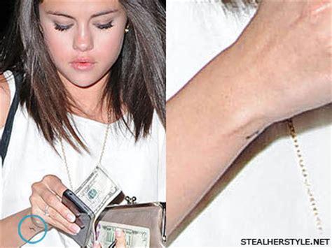 selena gomez tattoo on her wrist selena gomez on wrist