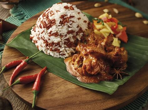 nasi dagang  chicken curry recipe hungrygowhere malaysia
