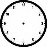 Blank Clocks | ClipArt ETC