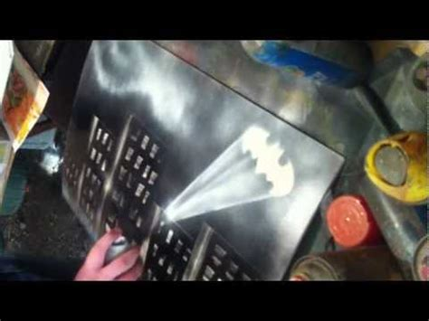 spray paint batman quot batman quot spray paint by nathan salmon