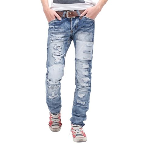 Celana Pull Light Blue Ripped mens stacee