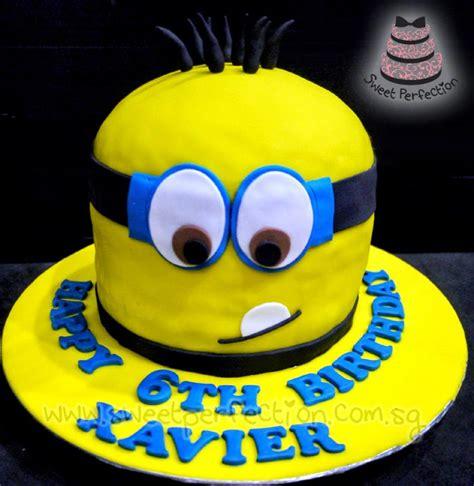 sweet perfection cakes gallery code minions happy  birthday xavier