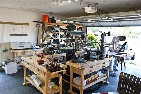 garage workshop how to transform your garage into the ultimate home workshop
