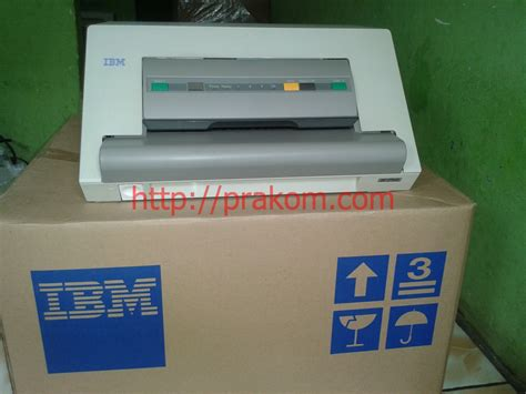 Printer Mesin Antrian printer passbook ibm dan kardus service printronix