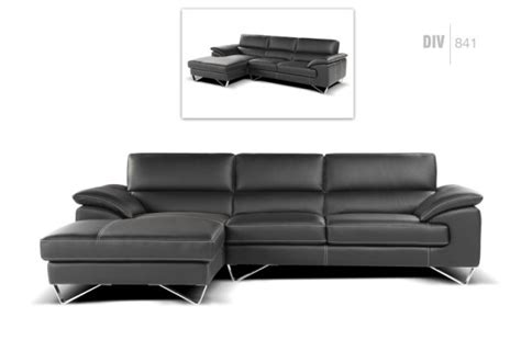 Stylish Sofas 841 nicoletti div 841 sectional leather sectionals living