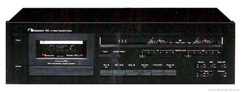 nakamichi 480 cassette deck nakamichi 480 manual two stereo cassette deck