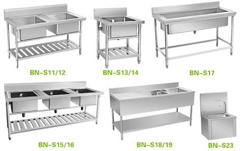 Commercial Kitchen Equipment Philippines by Free Standing Commercial Kitchen Sink Stainless Steel
