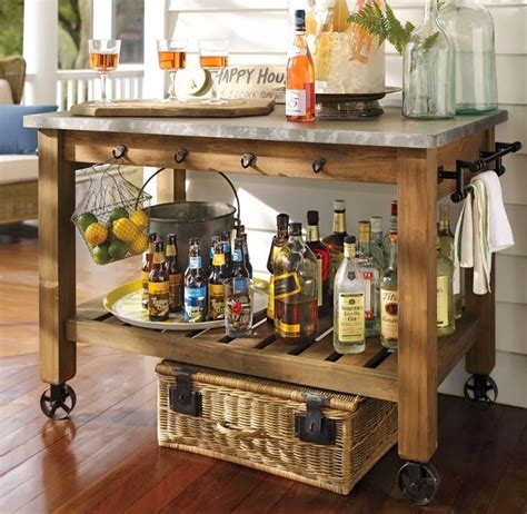 best 25 mobile kitchen island ideas on rustic