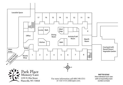floor plan for elder care cottages memory care units homey park place memory care tour park place senior living