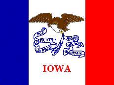 of iowa colors iowa information rentals demographics recreation