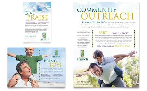 Church Outreach Flyers