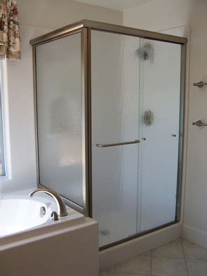 Mirrored Shower Door Vision Mirror Shower Door
