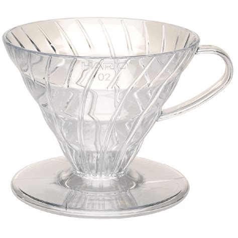 hario v60 coffee dripper clear plastic