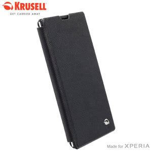 Krusell Flip Malmo Stand Sony Xperia T3 White krusell malmo sony xperia t3 flip black