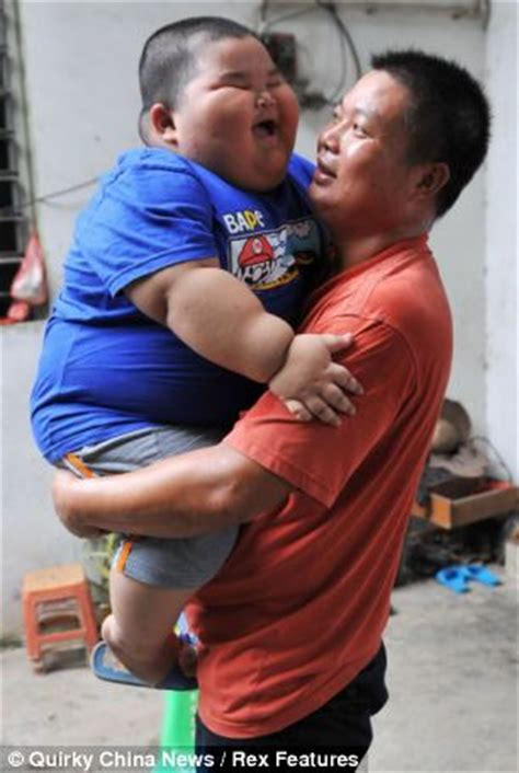 Fat Chinese Boy Meme - lu hao chinese toddler 3 weighs a staggering 132lbs and