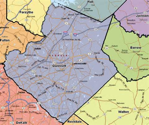 map of gwinnett county seilogr forsyth county run