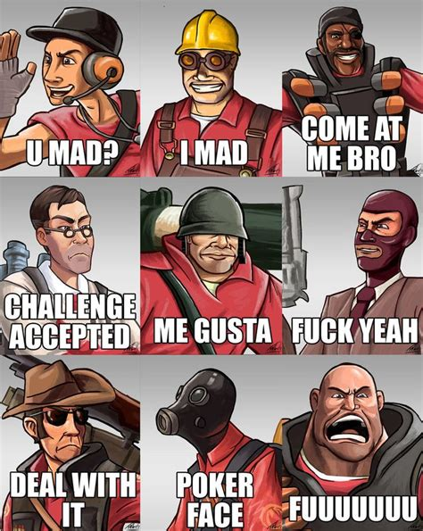 Team Fortress 2 Memes - team fortress 2 meme sprays by aktheneroth youtubers and