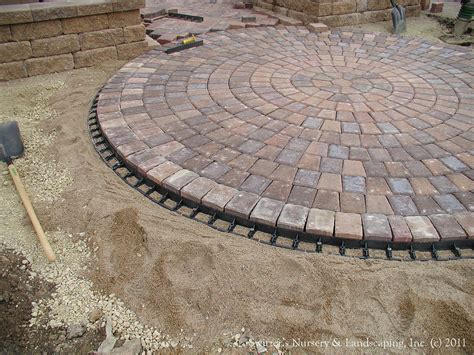 Paver Patio Edging Paver Patio Front Entry Interlocking Paver Edge Restrain Flickr
