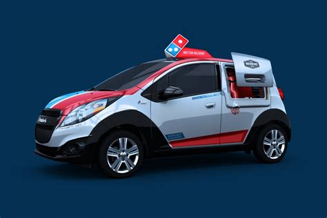 Dominos Pizza Cars by 2016 Domino S Dxp Delivery Car The New Vehicle Concept