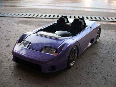 Diecast Miniatur 124 1991 Bugatti Eb 110 Bburago bugatti eb110 barquette blue burago diecast model car 1 18