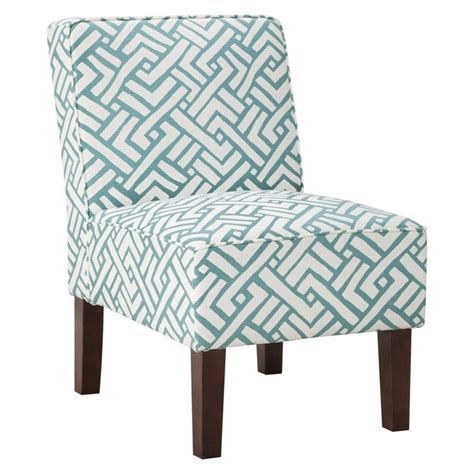 room chairs target threshold slipper chair turquoise geo cottage