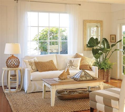 beachy living room decorating ideas 37 sea and beach inspired living rooms digsdigs