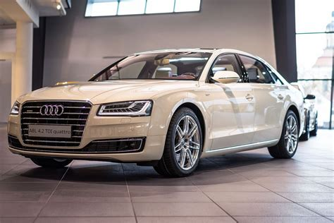 Audi A8 Mobile by Audi A8l In Magnolia Is Like A Mobile Living Room Gets